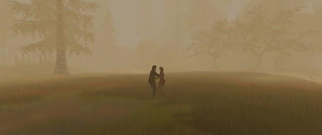 A dance in the autumn fog