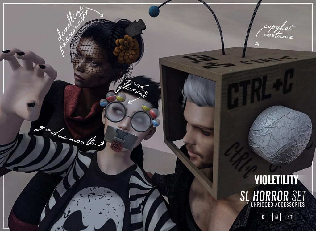 Violetility – SL Horror Set