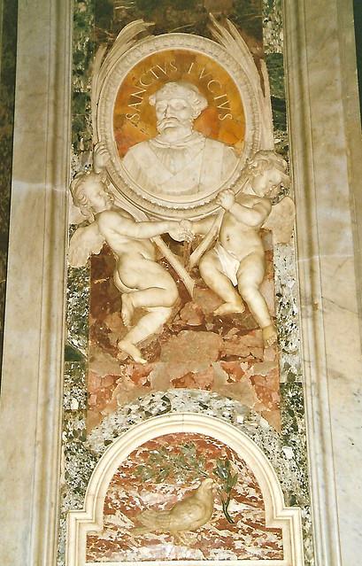 Vatican, Basilica di San Pietro, St. Lucius