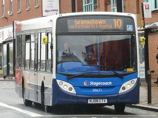 Stagecoach in Sunderland 39671 (NJ08 CTV)