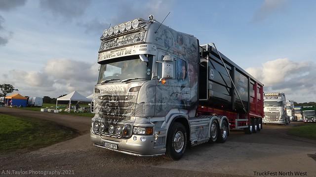 Scania Topline R730 V8 U007 SPY J Davidson Truckfest North West