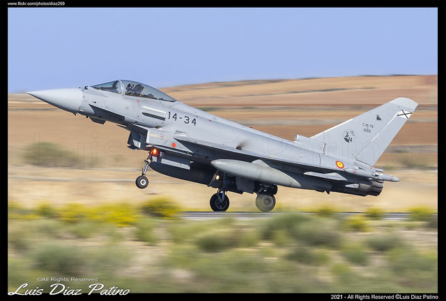 Ejercito del Aire Eurofighter Typhoon S LETO