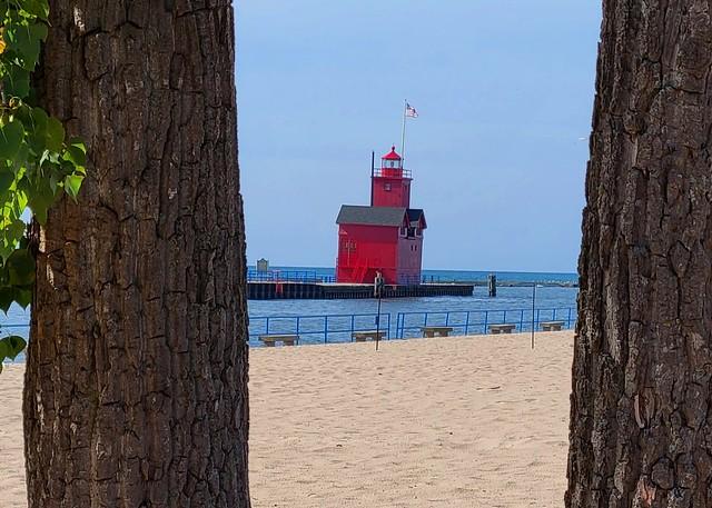 MI, Ottawa Beach-Holland Harbor Lighthouse