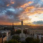 16. Oktoober 2021 - 7:34 - Baltimore's Mount Vernon at Sunrise