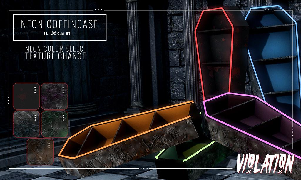 Violation – Neon CoffinCase