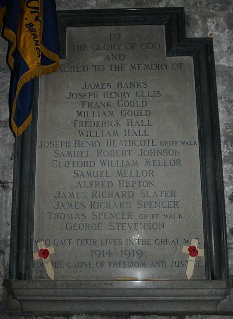 Brassington War Memorial