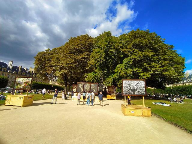 31 - Paris en Septembre 2021 - Place des Vosges
