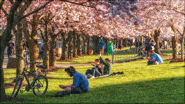 A Thursday Afternoon at Tom McCall Waterfront Park