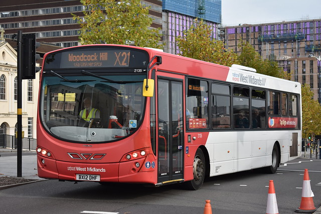 'National Express West Midlands' Wright Eclipse Urban 2 '2135' (BX12 DHF)