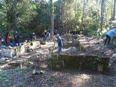 Le chantier APB de la chapelle de San Martinu