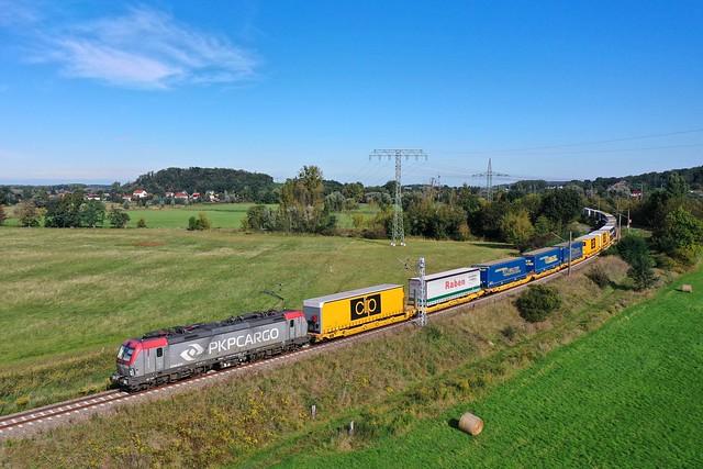 PKP Cargo 193 514 + Güterzug/goederentrein/freight train  - Golm