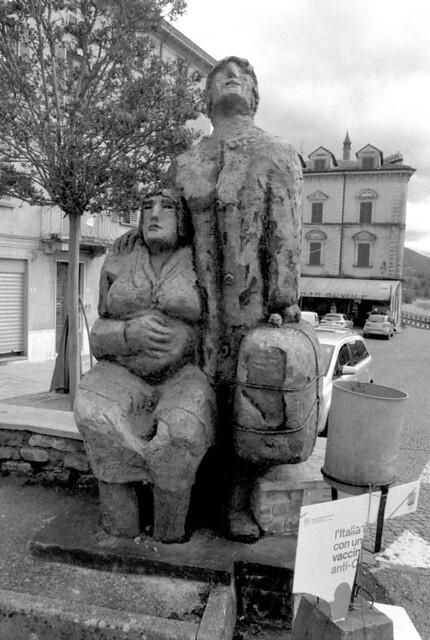 Monumento agli Emigranti, Bettola (Pc)