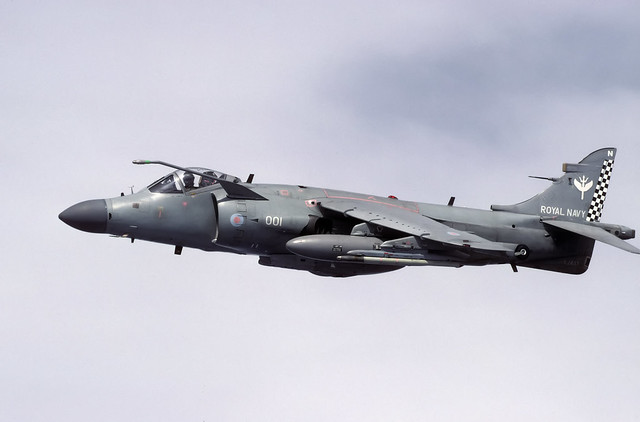 BAE Sea Harrier FA.2 XZ497 N001 801 NAS 06-03