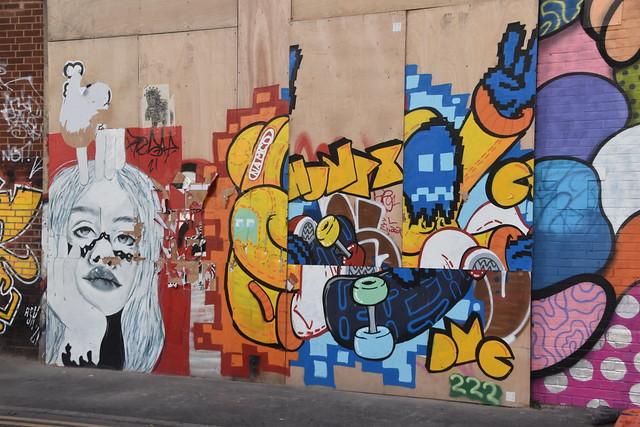 Street Art, Digbeth, Birmingham