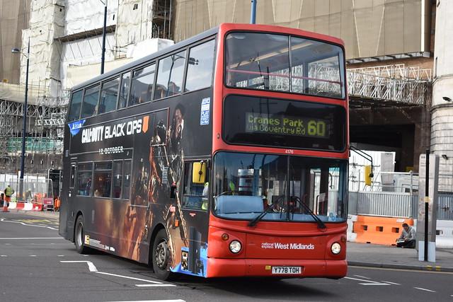 'National Express West Midlands' Alexander Dennis Trident 2 '4176' (Y778 TOH)
