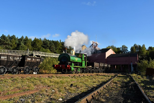 Peckett 0-4-0ST No.1370 May, Beamish Museum, 30742 Charters