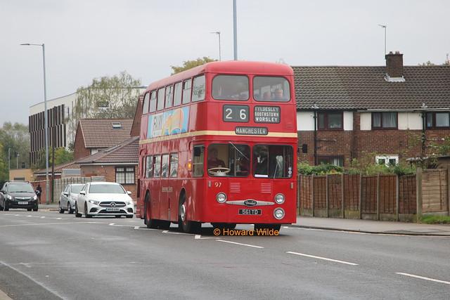 Preserved Lancashire United Transport 97 (561 TD)