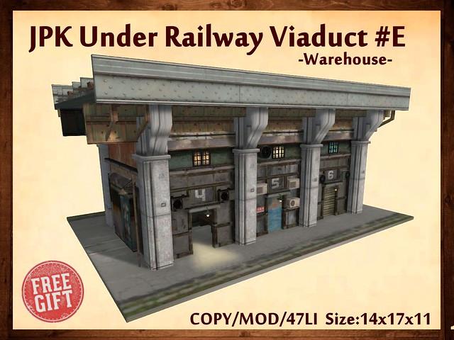JPK Under Railway Viaduct #E (Free Gift)