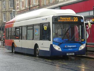 Stagecoach in Sunderland 28009 (YN63 BXG)