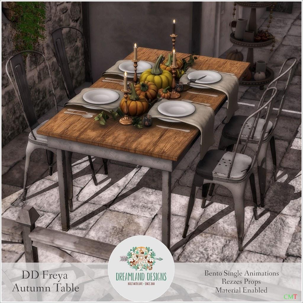 DD Freya Autumn Table SetAD