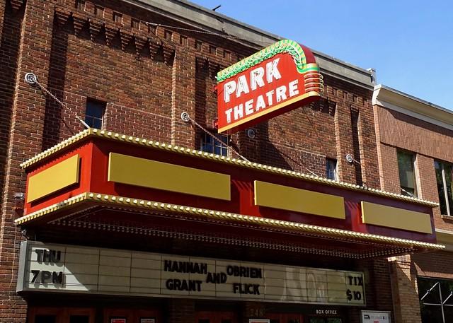 MI, Holland-U.S. 31(Old) Park Theatre Neon Sign