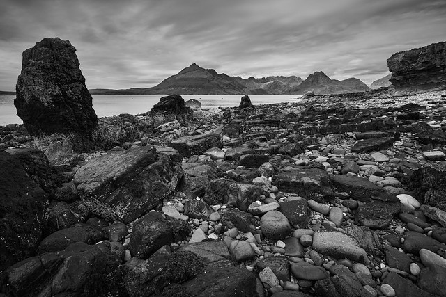 Elgol beach - low and wide