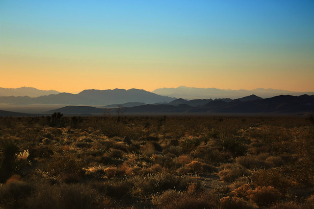 Mojave landscape looking south