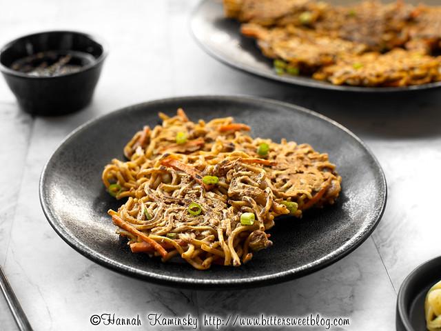 Crispy Noodle Pancakes 2