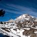 Going up Mount Hood