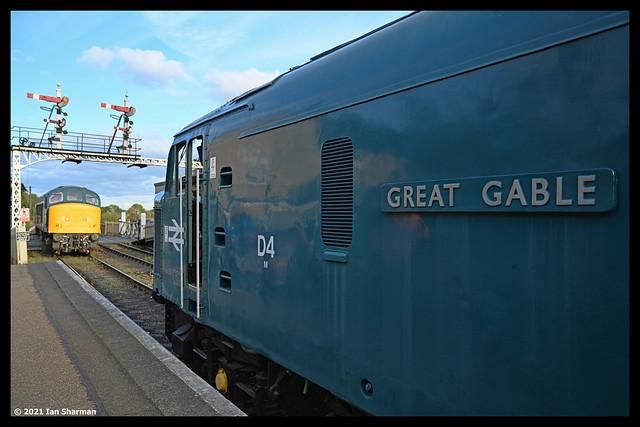 No D4 (44004 Great Gable) 10th Oct 2021 Nene Valley Railway Three Peaks Gala