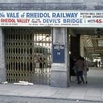 Aberystwyth Station Front entrance 05-06-1971