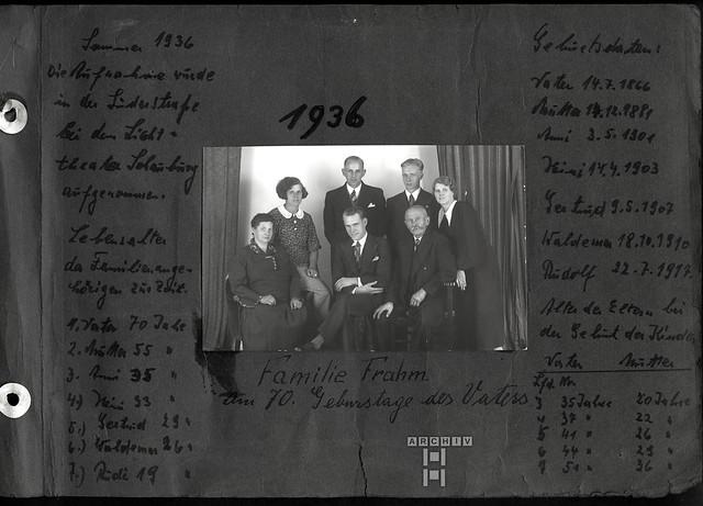 Archiv 25TappenAlbum13u4 Rudolf Frahm, Hamburg, 1927-1941