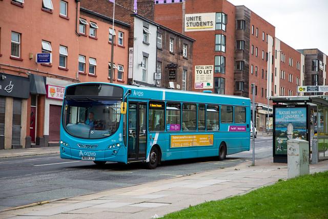 Arriva North West 3030, Royal Liverpool Hospital, September 2021