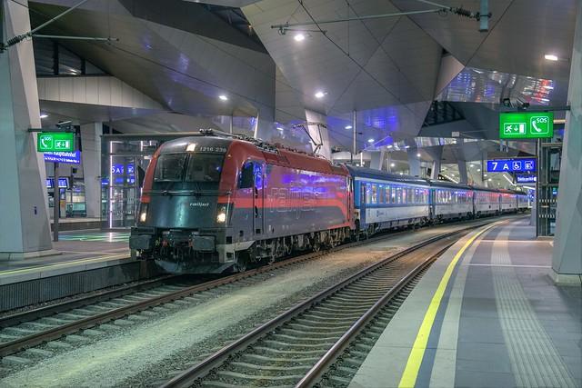 ÖBB 1216 239 Wien Hbf