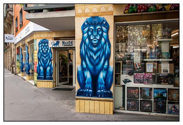 DSC_5339 , Avenue du Maine , Paris , 14ème