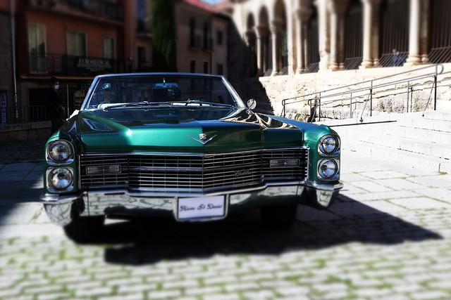 Cadillac at Segovia, Spain