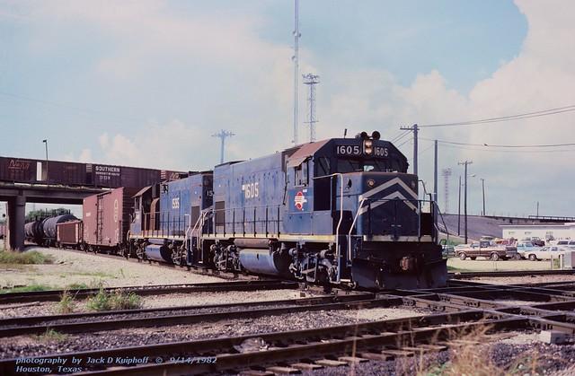 MP 1605-1595, Houston, TX. 9-14-1982