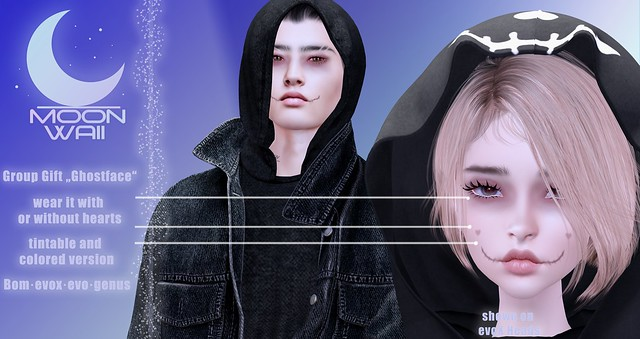 Free (Group Gift) MoonWaii . Ghostface ♥