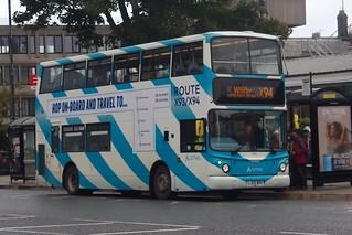 7248-LJ55 BRX. Arriva North East.