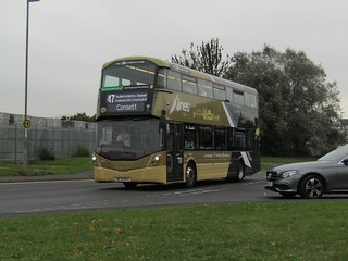 Go North East - 6377 - NK70BYV - GoNE20211965GoNorthEast
