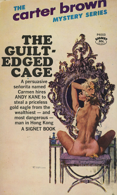 Signet Books P4003 - Carter Brown - The Guilt-Edged Cage