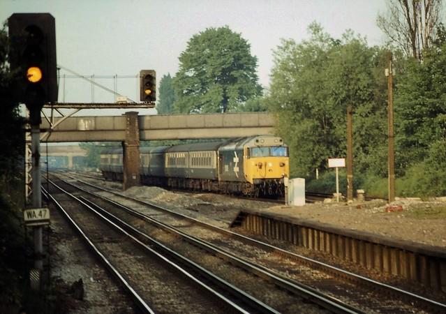 Under yellow signals