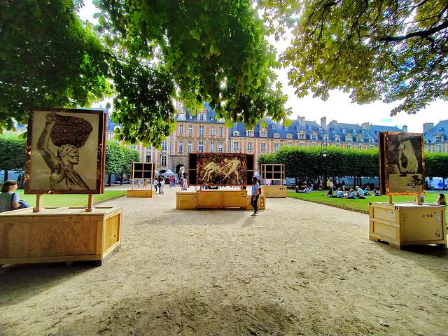27 - Paris en Septembre 2021 - Place des Vosges