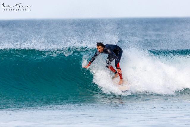 Surf's up at Porthmeor Beach