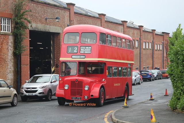 Preserved Lancashire United Transport 27 (122 JTD)