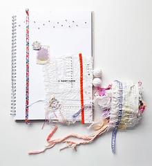 a page, artist book.