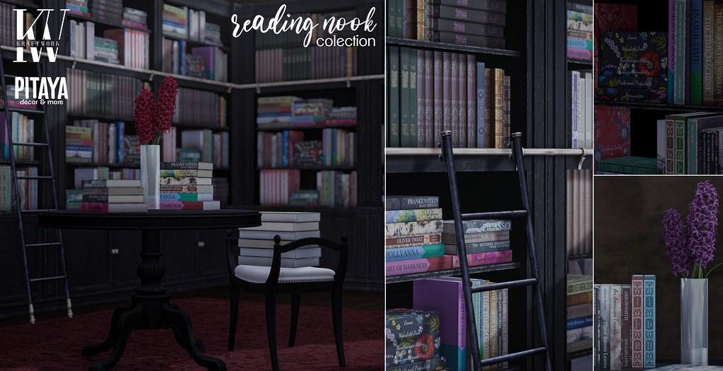 KraftWork + Pitaya .Reading Nook. @ Epiphany
