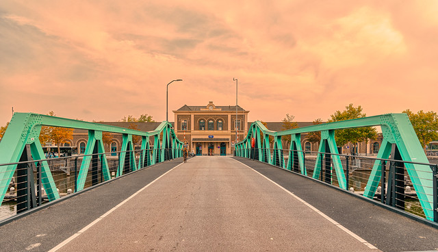 Stationsbrug, Middelburg.