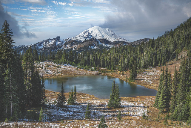 Majestic Rainier and Tipsoo Lake 2021