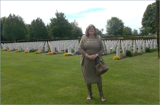 2021 - 06 - Karoll - 1012  Bayeux - Bayeux British Military Cemetery